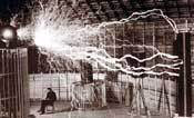 Tesla and giant sparks