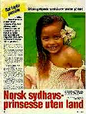 Sonia i norsk blad